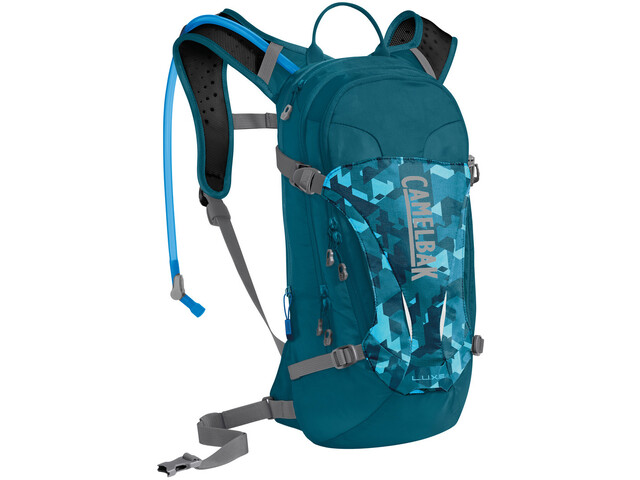 CamelBak L.U.X.E. Hydration Pack Women 3l dragon teal/camelflage